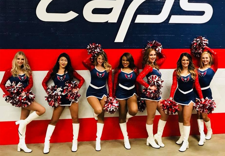 Washington Capitals Red Rockers Uniforms