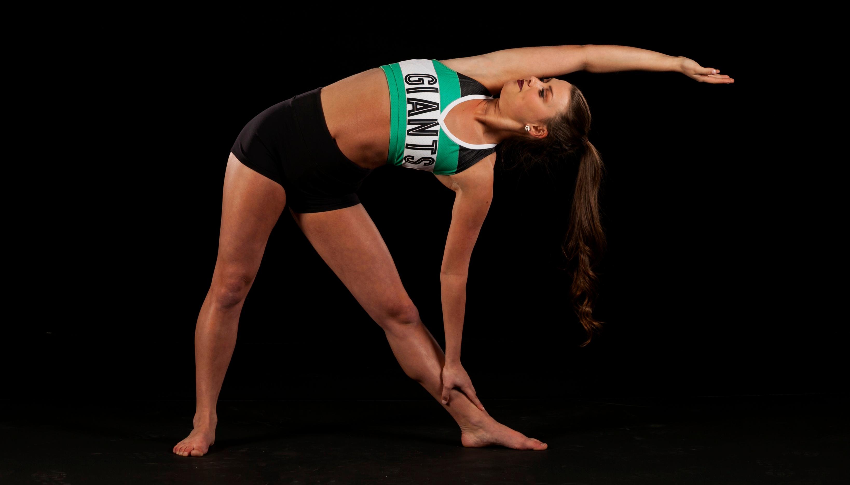 dancer stretch pose