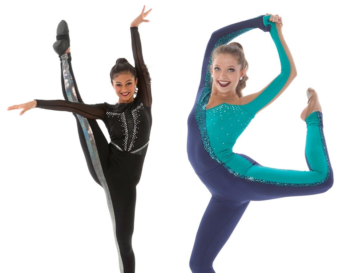 Arm Leg Stripe Highkick Dance Costumes.jpg