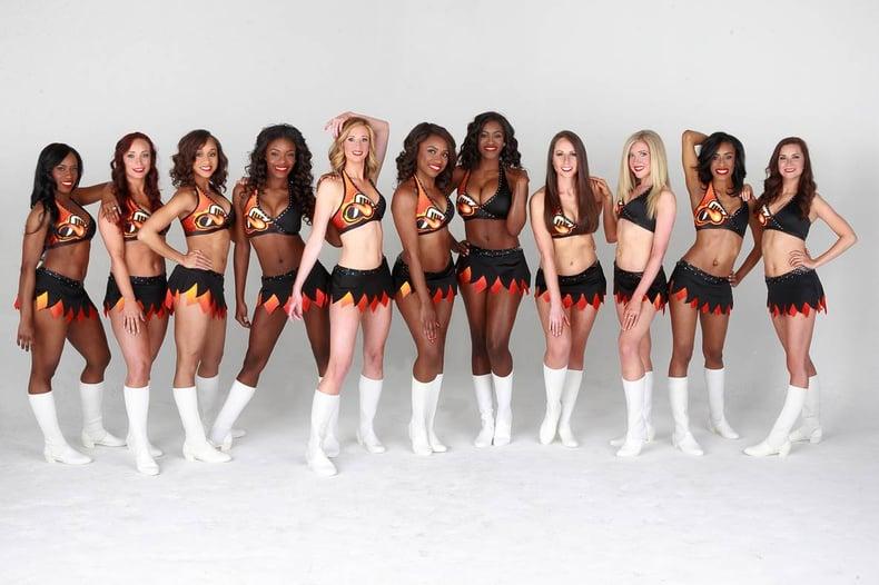 Atlanta Blaze Professional Lacrosse Dancers