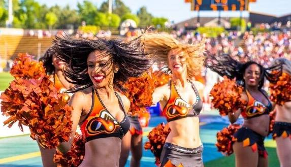 The Atlanta Blaze Dancers Custom Dance Costume