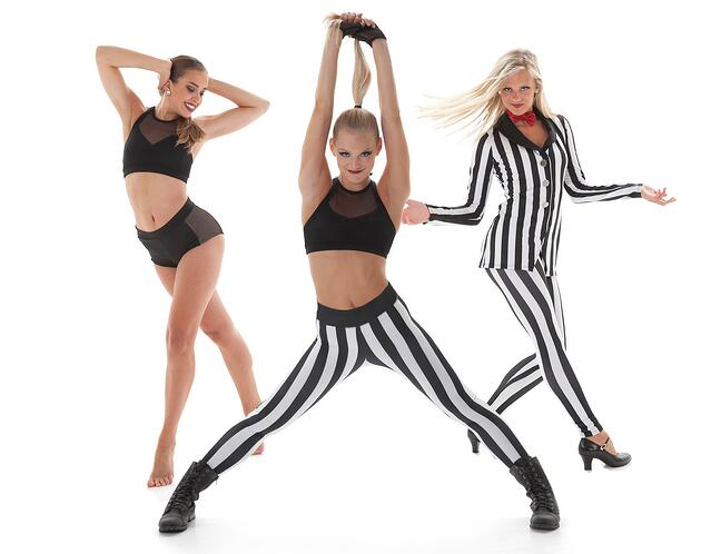 Mix and match pieces to create a new dance look!