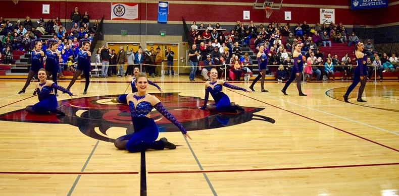 Bismarck Demonettes high kick costume