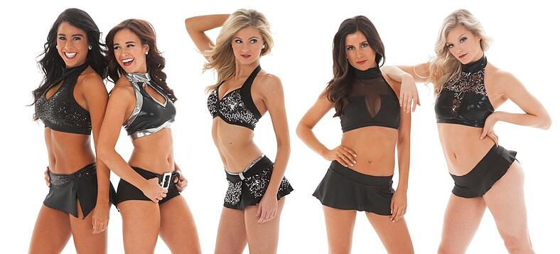 All Black Custom Pro cheer audition apparel