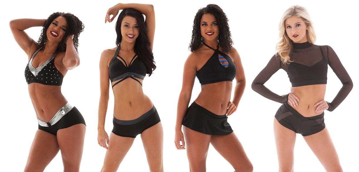 All Black Custom Pro cheer audition apparel
