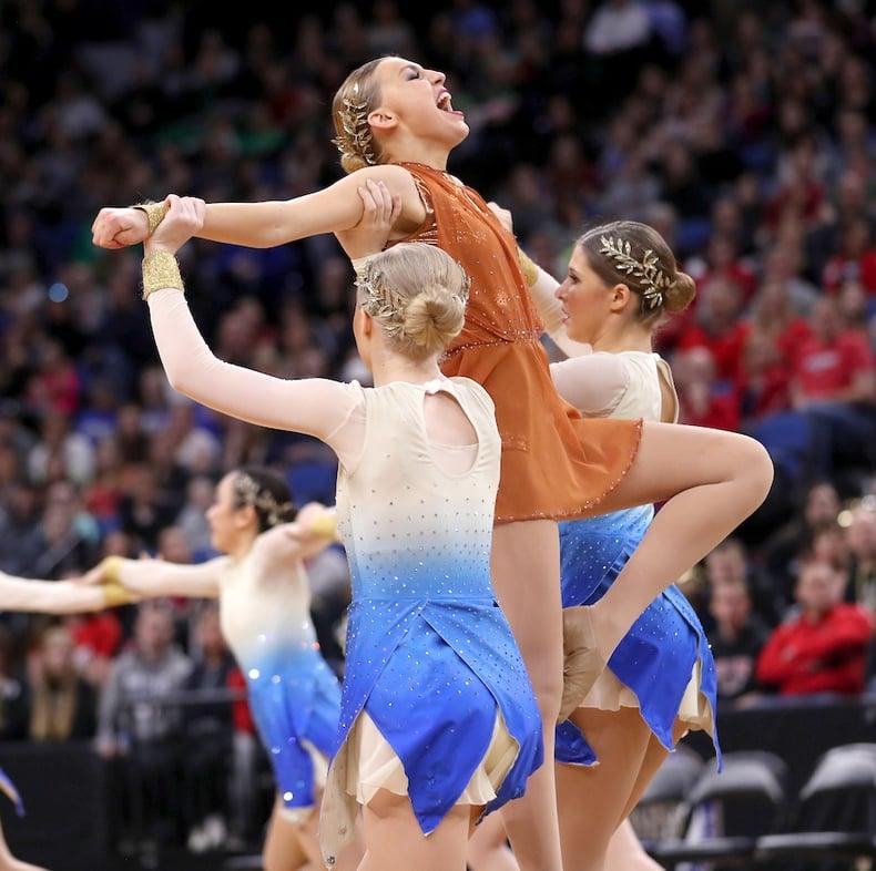 Chaska High School MN State 2017 Kick Dance Costumes