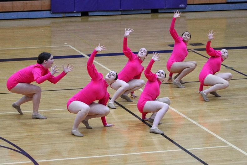 Chaska high school dance team