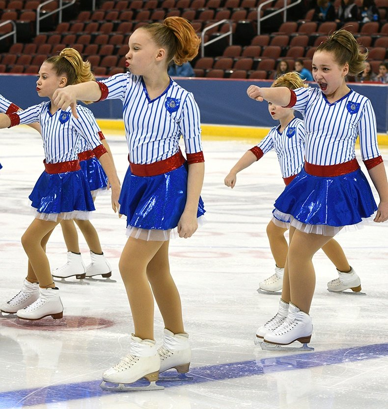 competition recap synchronized skating dress