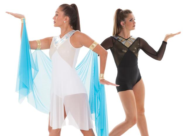 Cleopatra Themed Jazz Dance Costume