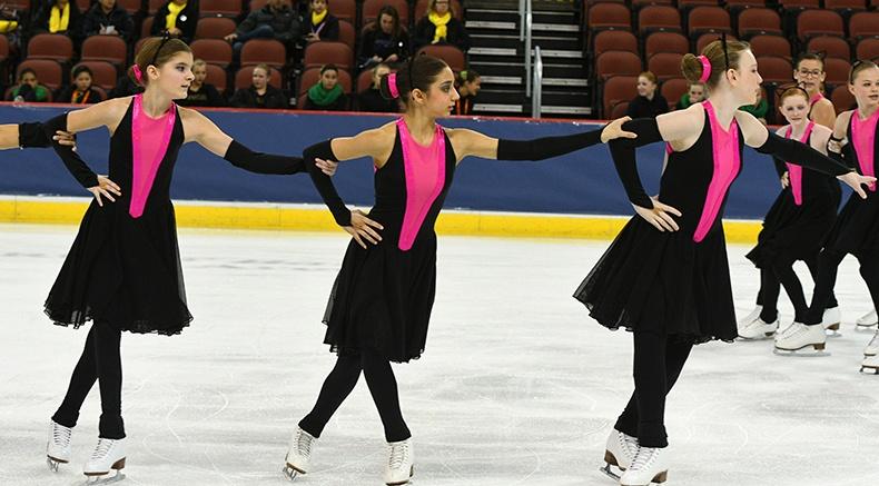 competition recap synchronized skating dress