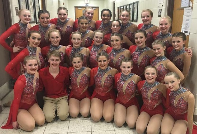 DC Everest High School Dance Team Custom Jazz Costume