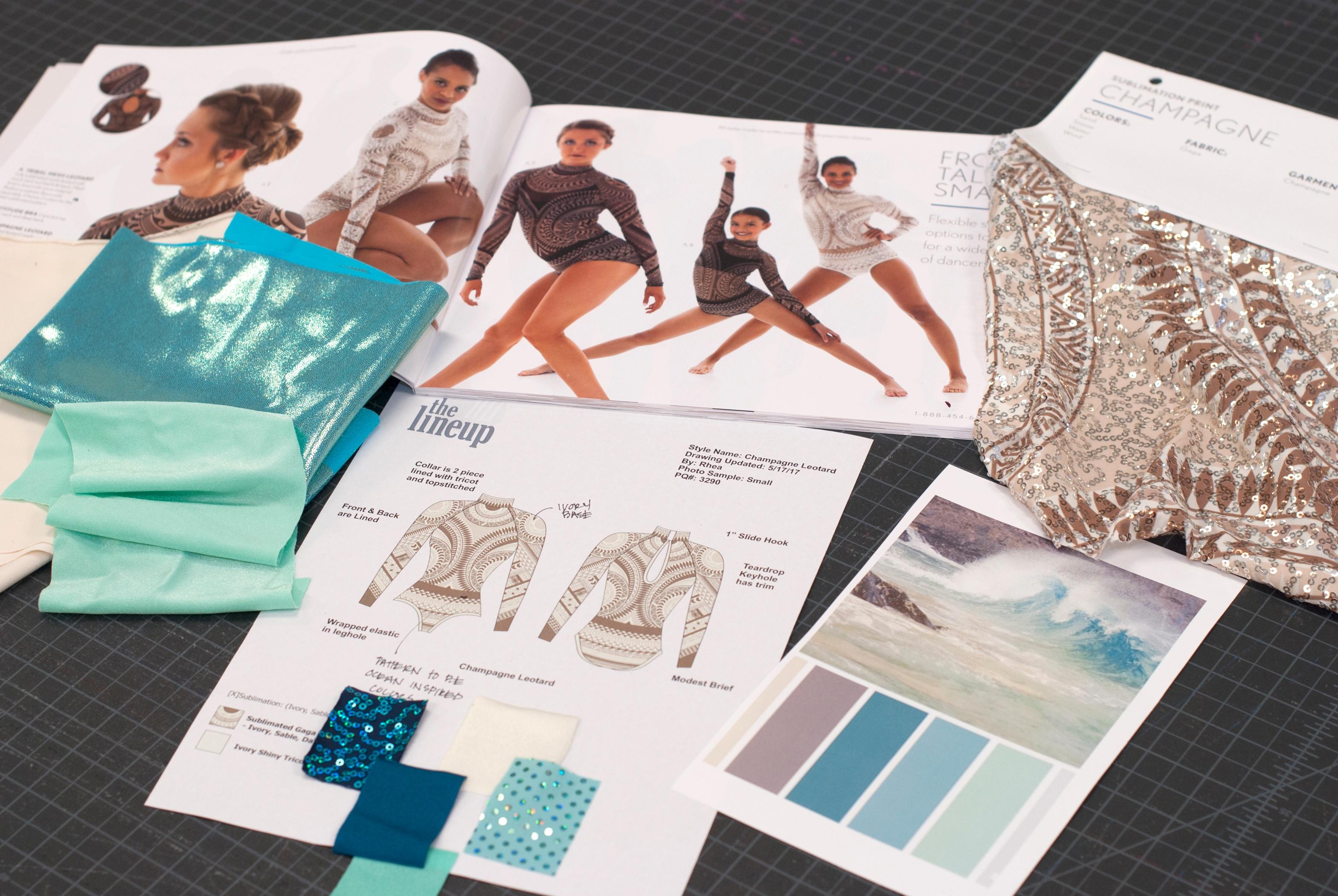 design inspiration for dance costumes