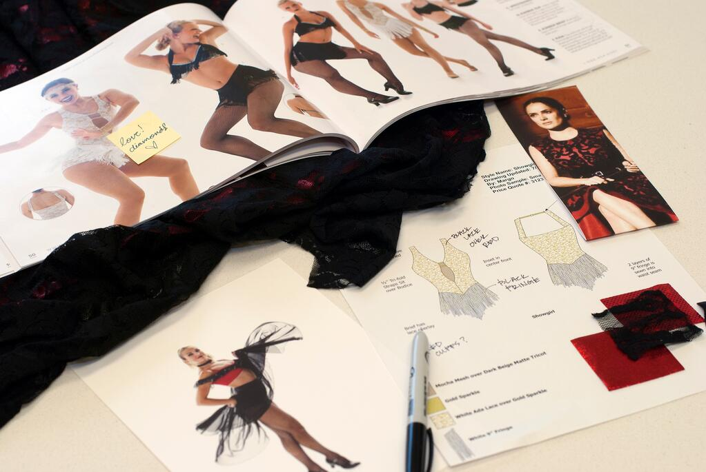 Designing a Custom Dance Costume