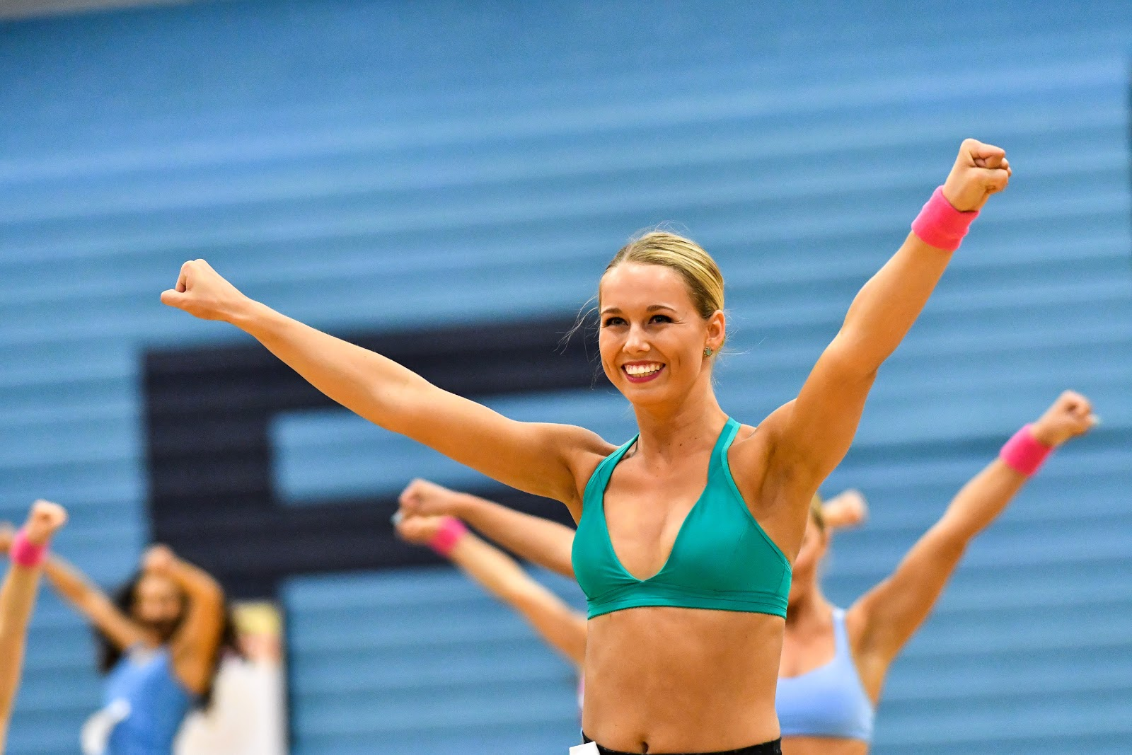 college dance team audition