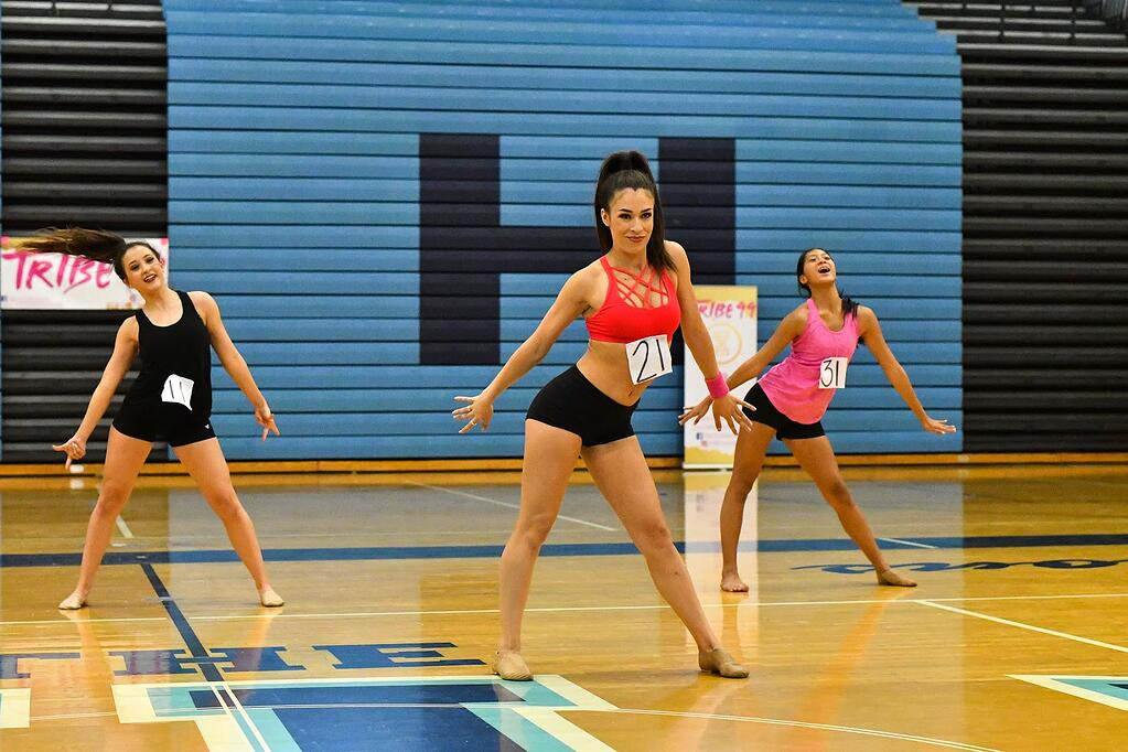 college dance team audition