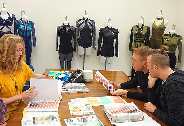 dance costume design consultaton color schemes