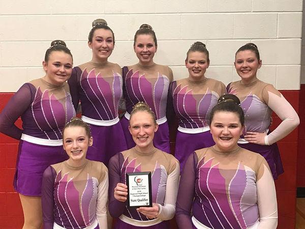 Dodgeland dance team custom pom uniform