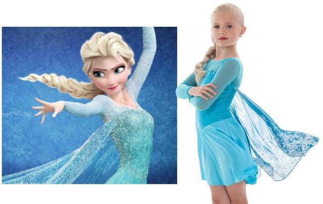 Elsa from Disney Movie Frozen