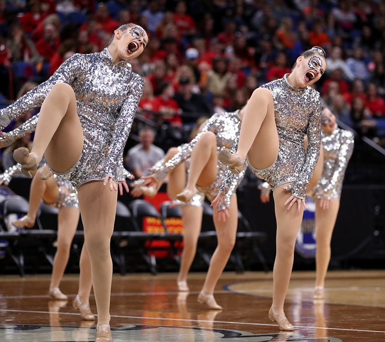 Fairbault High School MN State High Kick.jpg
