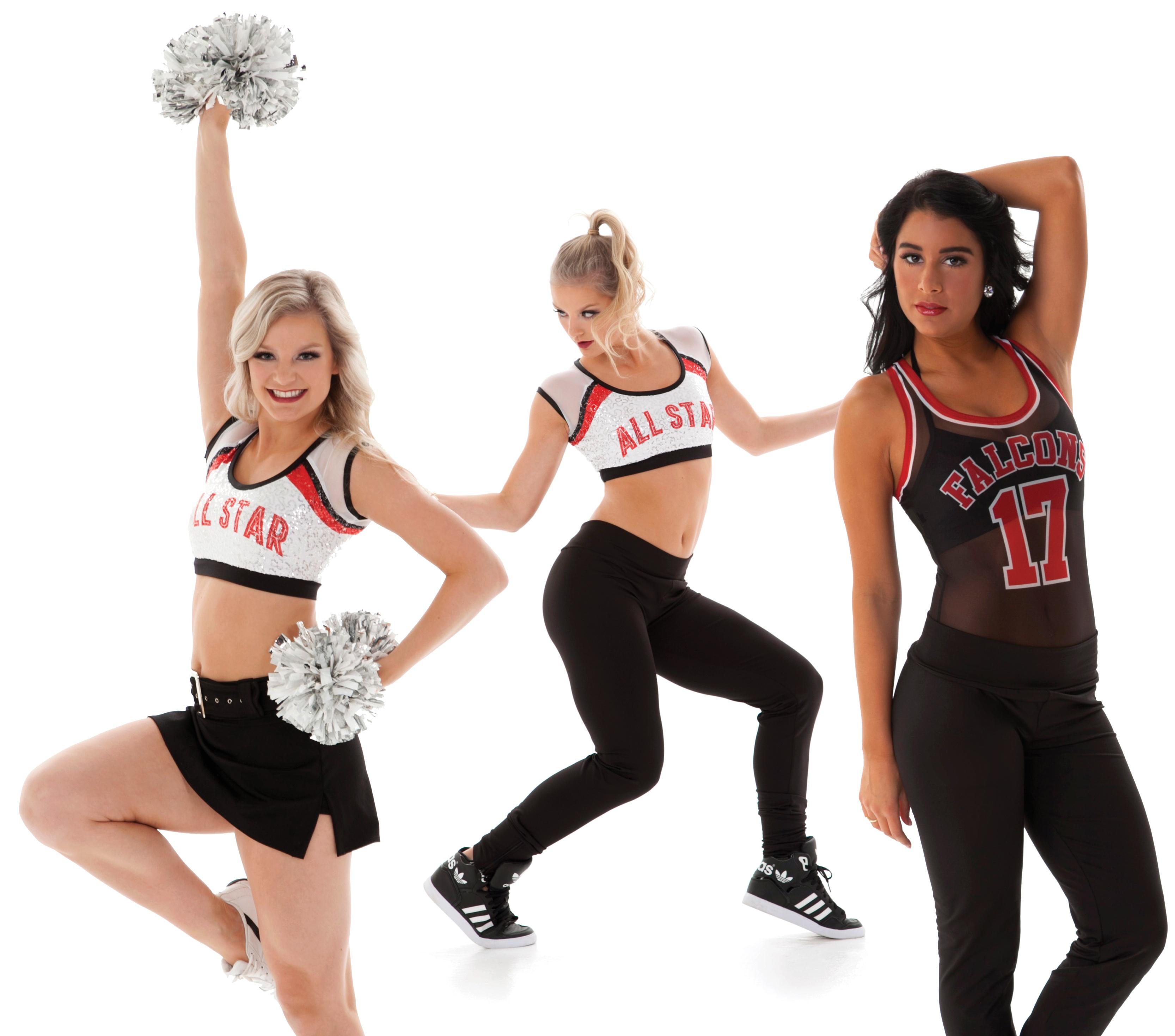 Cheer uniform trend: hip hop