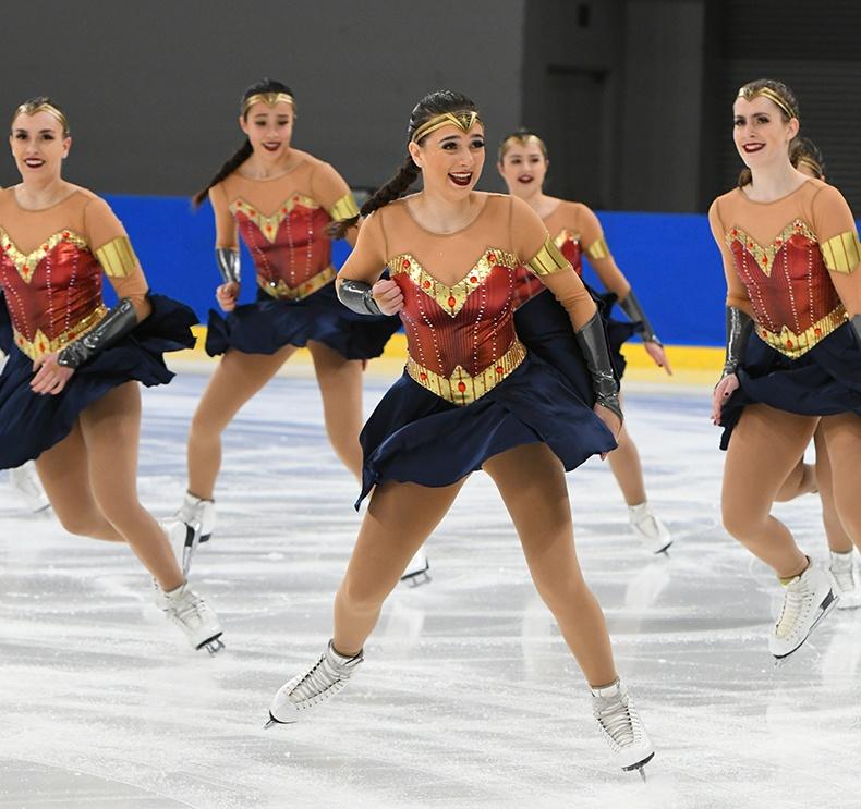 Hockettes Junior Short Wonder Woman Dress