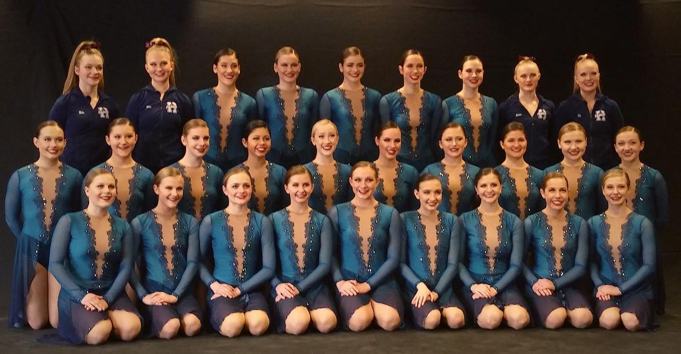 Hudson High School Raidaires Dance Team