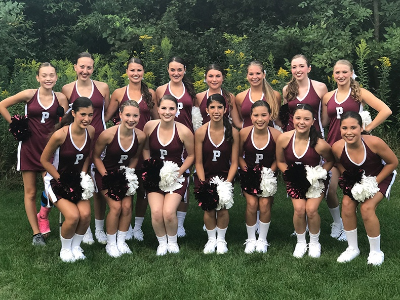 prescott high school dance team game day look team pictures