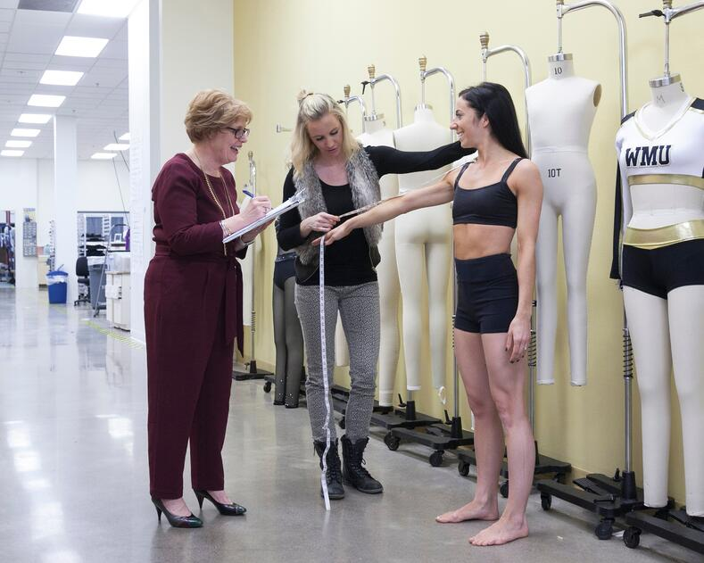 sizing for a dance costume