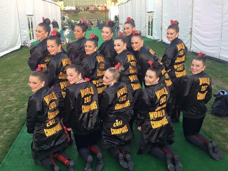 Dance Alley All Stars Custome Kick Unitard