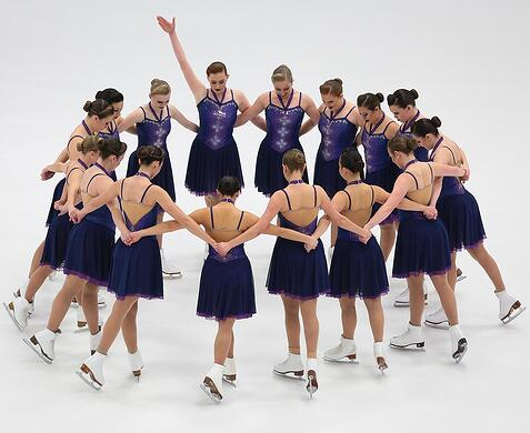 Diney Villianess synchronized skate dress