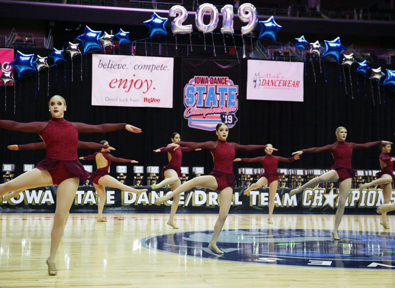 2019 Iowa State Dance and Drill Championships