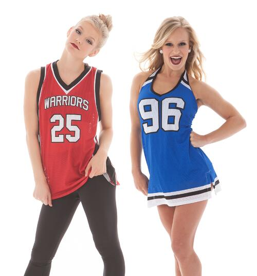 Basketball Jersey, Tami Athletic Mesh Dress