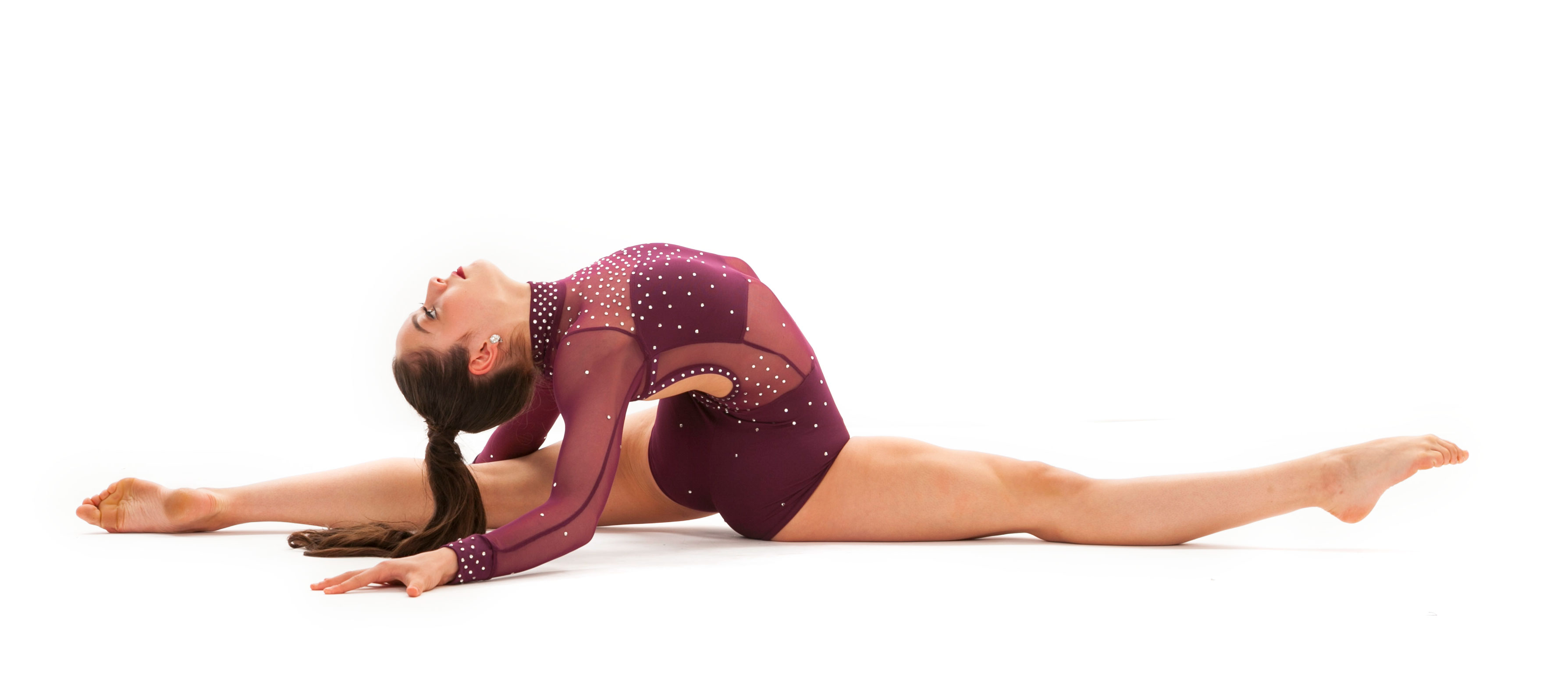 Dancer hip flexibility