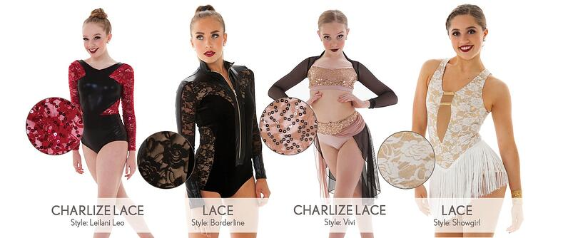 lace costume fabric break down