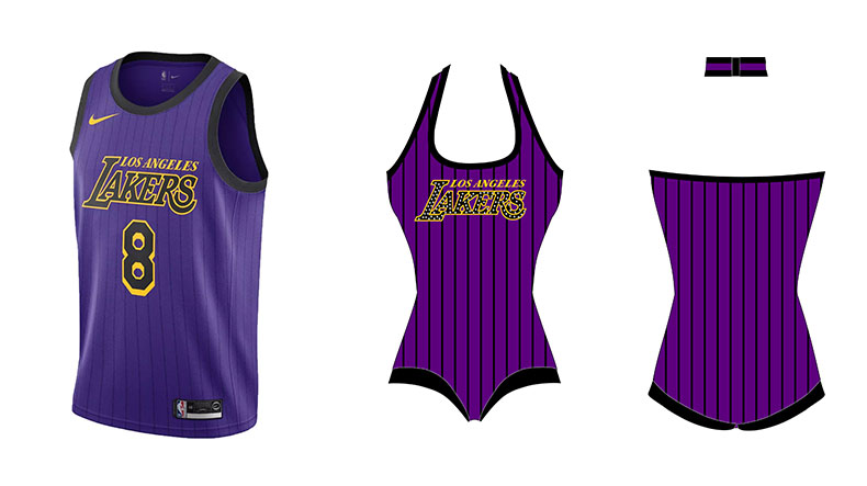 Lakers city edition jersey