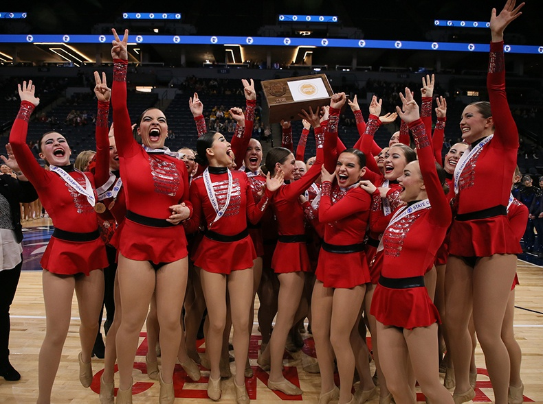 minnesota high school dance team state competition