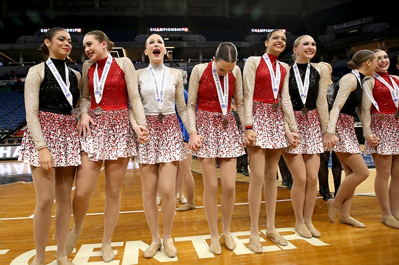 Lakeville North High School MN State 2017 2 High Kick.jpg