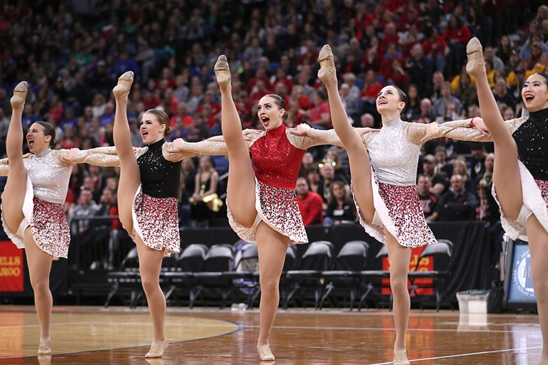 Lakeville North High School MN State 2017 High Kick.jpg
