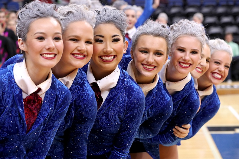 Lakeville South High School MN State 2017 2 High Kick.jpg