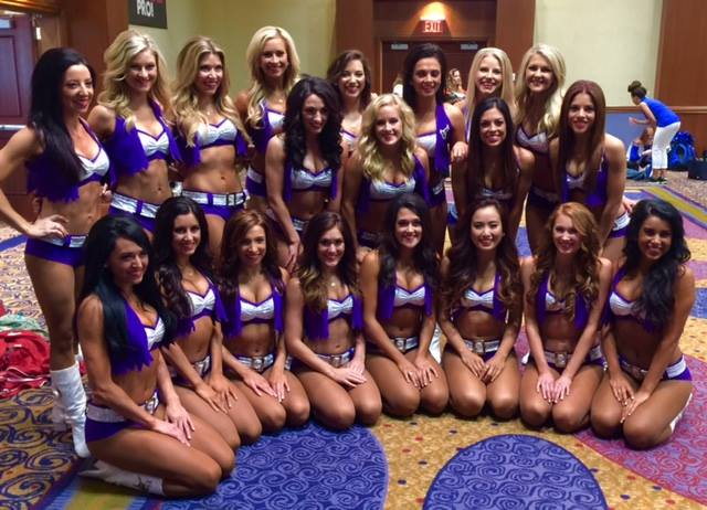 The Minnesota Vikings Cheerleaders