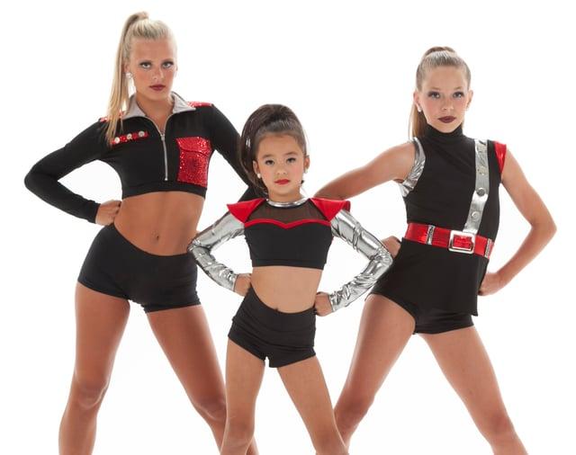 Dance costume trend: futuristic