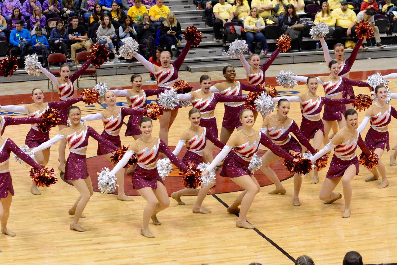 Menomonee Falls Dance Team Custom Pom Uniform