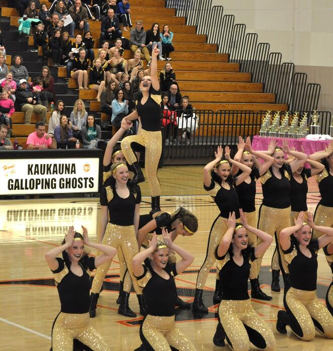 Middleton High School Dance Team Hip Hop Dance