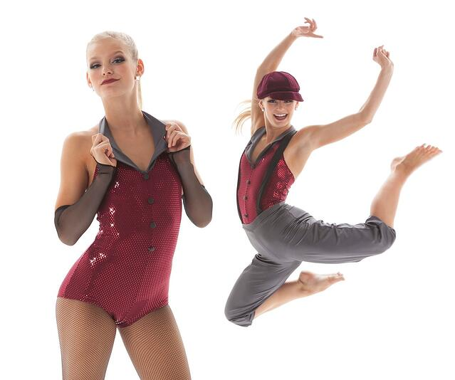 Newsies themed dance costumes