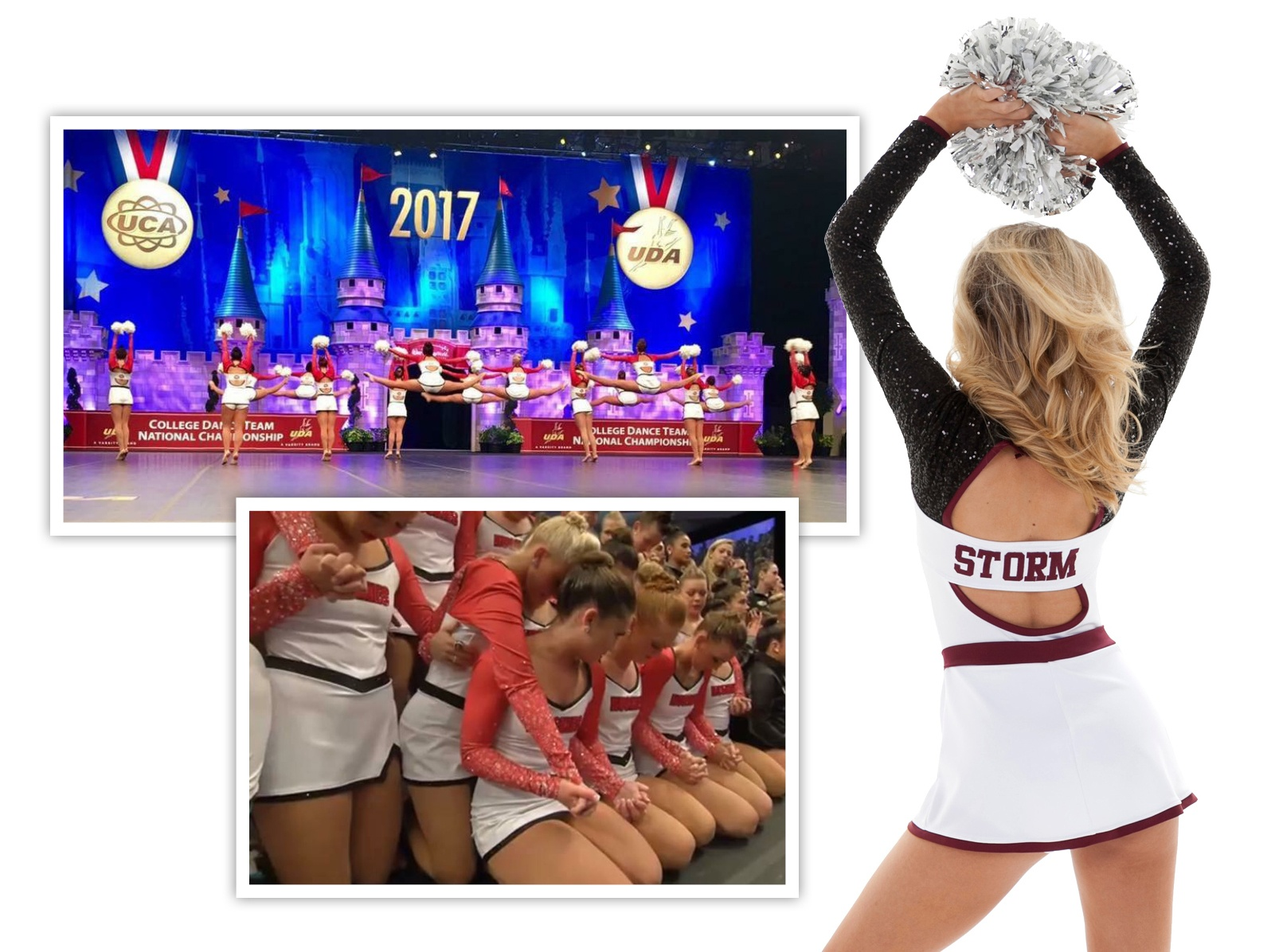 cheer and pom uniform trends: open back