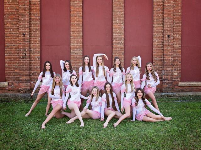 Prescott High School Dance Team custom jazz costumes