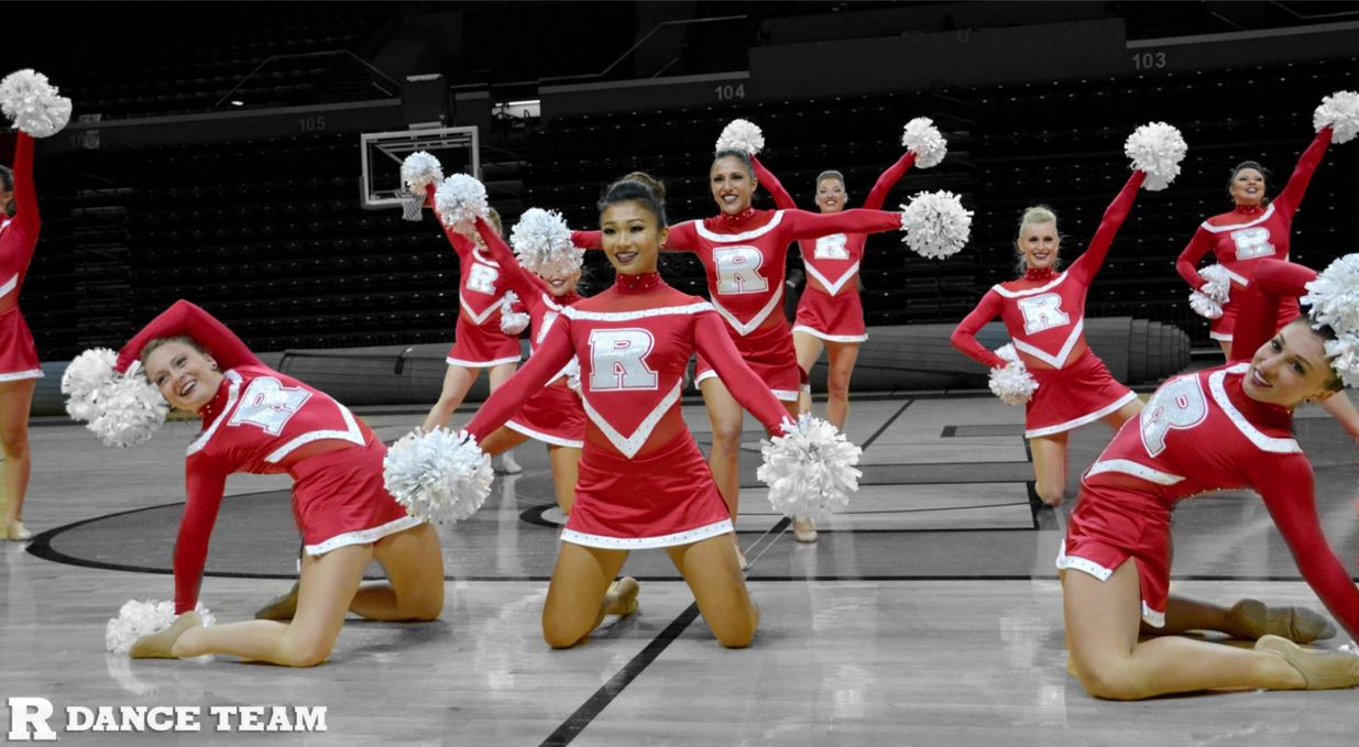 Rutgers University used the Oksana back in their signature red!