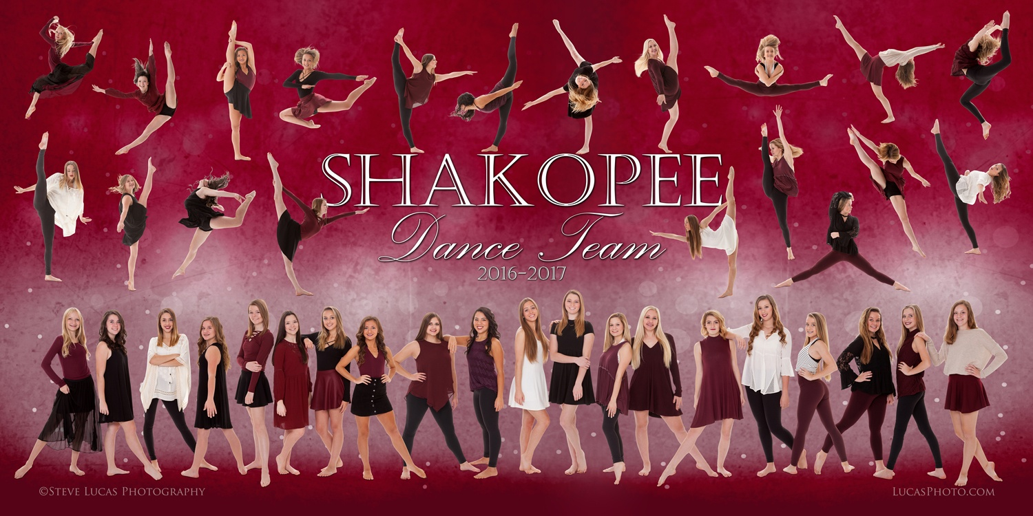 Shakopee Dance Team Photography poster