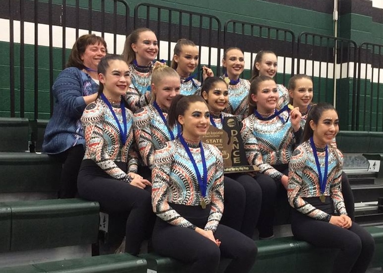 Sheboygan North JV dance team hip hop costume