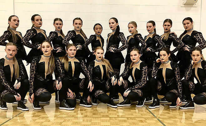 Sheboygan North dance team Custom Hip Hop costume
